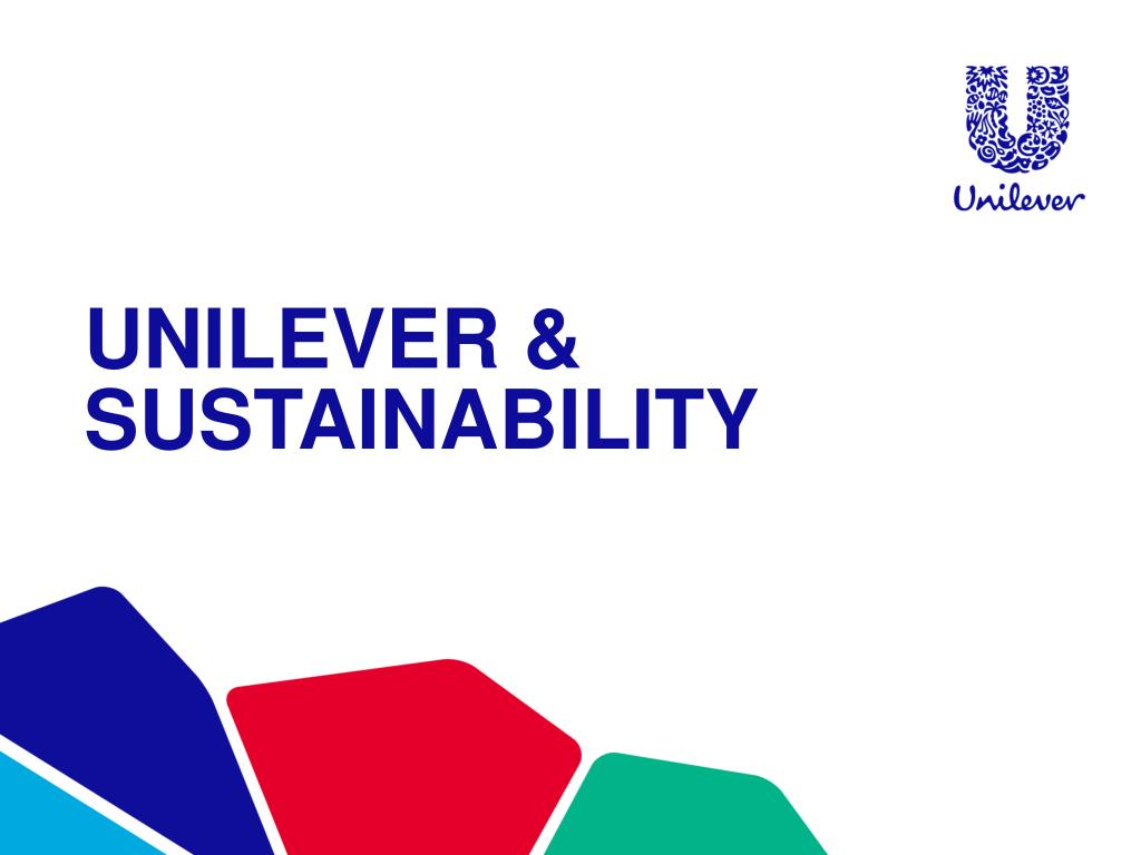 Ppt Unilever Sustainability Powerpoint Presentation Free Download Id 3060035