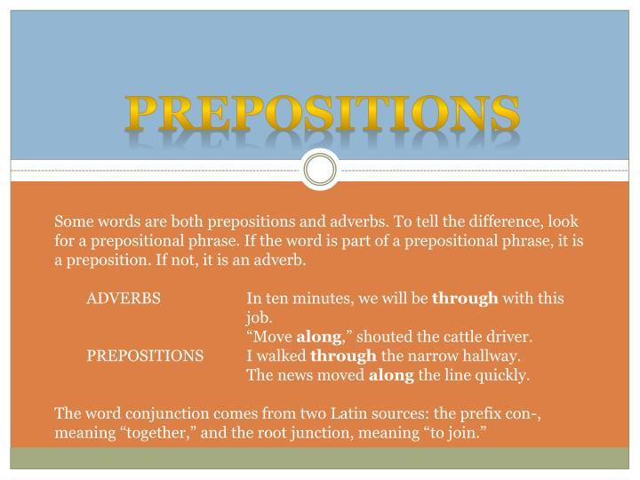 Prepositions1