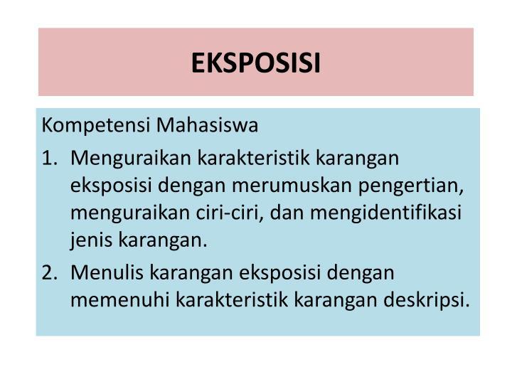 Ppt Ragam Eksposisi Powerpoint Presentation Id 3060452