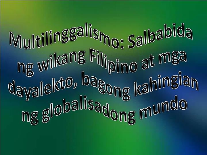 Multilinggalismo