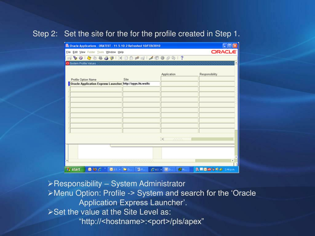PPT - Oracle Financials – APEX PowerPoint Presentation - ID