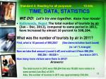 time data statistics2