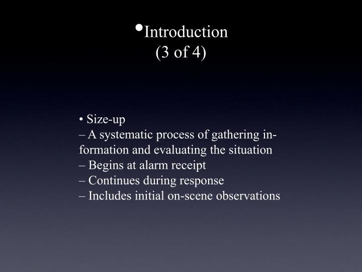 Introduction 3 of 4