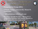 secretary s pedestrian safety initiative