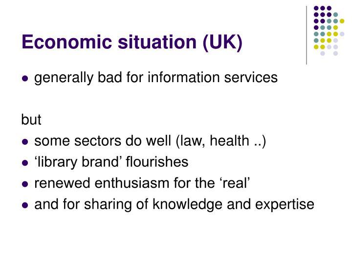 Economic situation (UK)