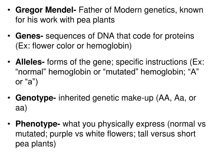 Gregor Mendel-