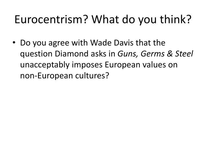 eurocentrism of g w hegel essay