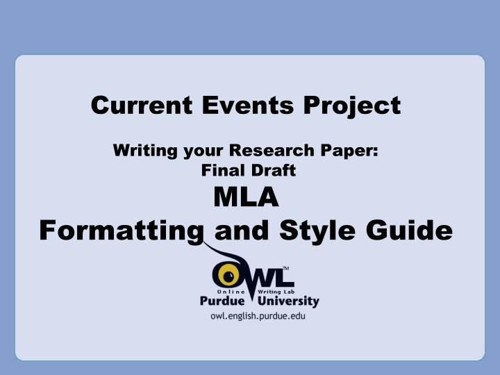 current mla format The modern language association or the mla writing format is used commonly when writing papers in the liberal arts and humanities field.