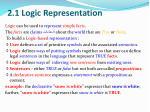 2 1 logic representation