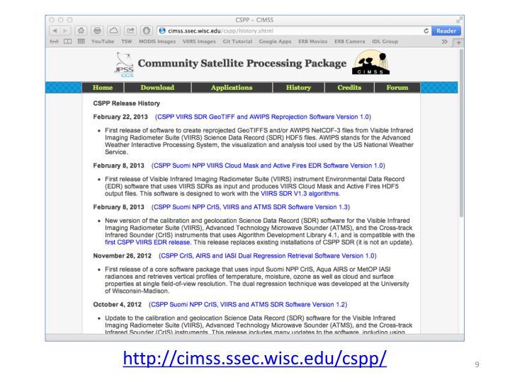 CSPP Website