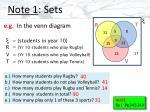note 1 sets3