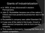 giants of industrialization1