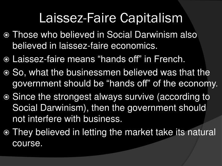 Laissez-Faire Capitalism