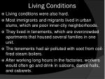 living conditions1