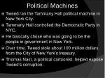 political machines1