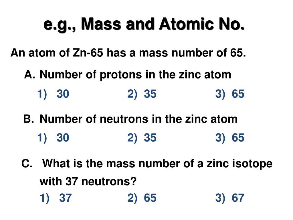 Exponential Atomic Mass: Atom, Nucleus, And Radiation PowerPoint Presentation