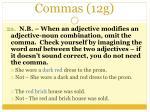 commas 12g1