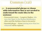 commas 12i1