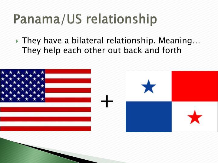 Panama/US relationship