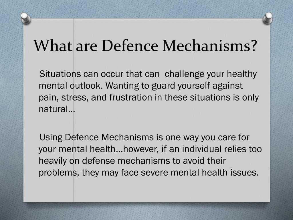 Ppt Personality Disorders And Defense Mechanisms Powerpoint
