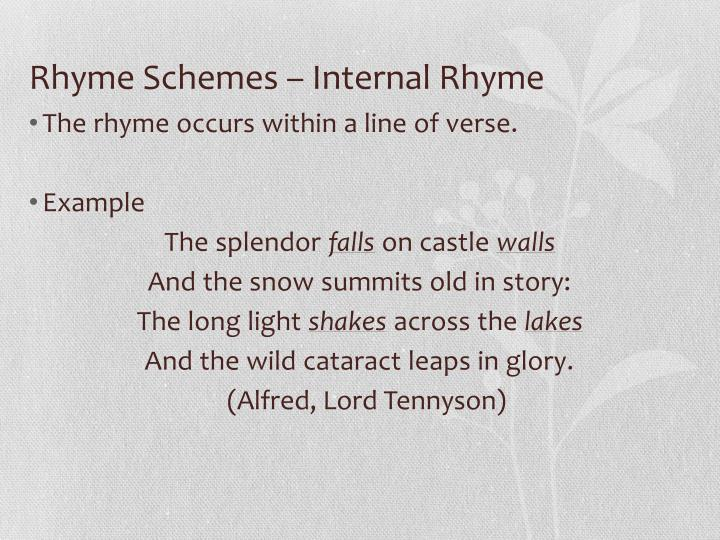 the splendor falls on castle walls analysis