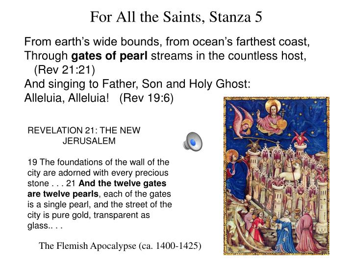 For All the Saints, Stanza 5