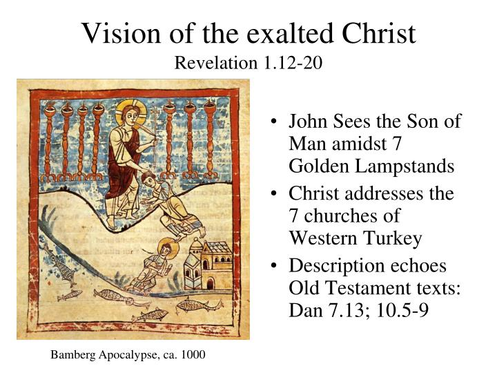 Vision of the exalted Christ