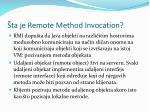ta je remote method invocation