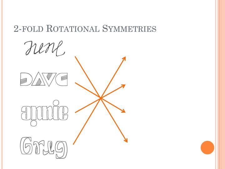 2-fold Rotational