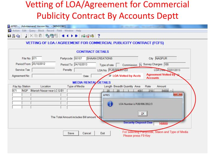 Ppt Earning Contract Module Streamlining Revenue Collection System