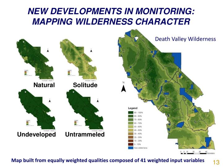 NEW DEVELOPMENTS IN MONITORING:  MAPPING