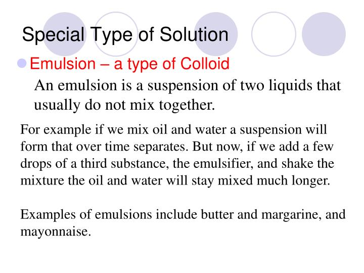 Special Type of Solution