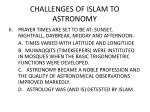 challenges of islam to astronomy1