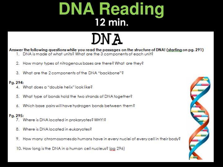 DNA Reading