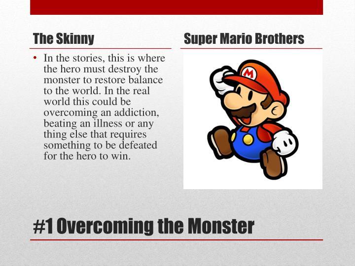 1 overcoming the monster