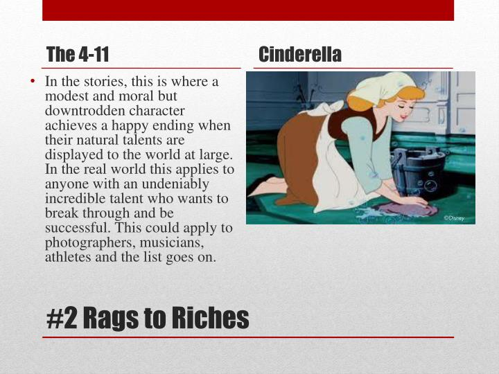 2 rags to riches