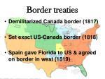 border treaties