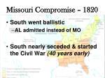 missouri compromise 18203