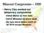 missouri compromise 18204