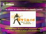 5 evince