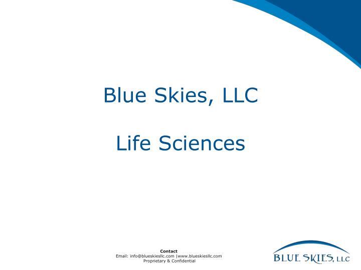 Blue Skies, LLC
