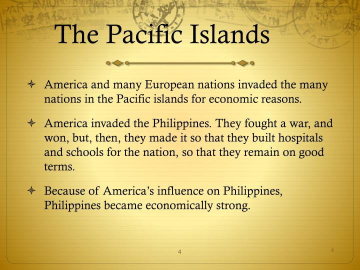 The Pacific Islands