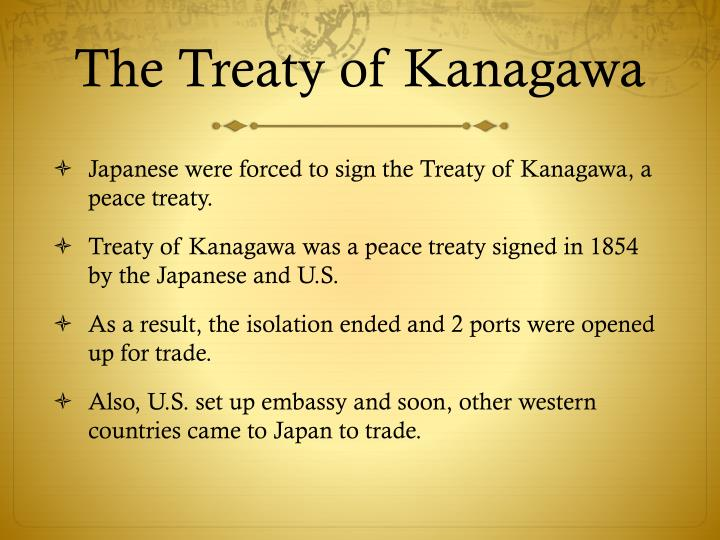 The Treaty of Kanagawa