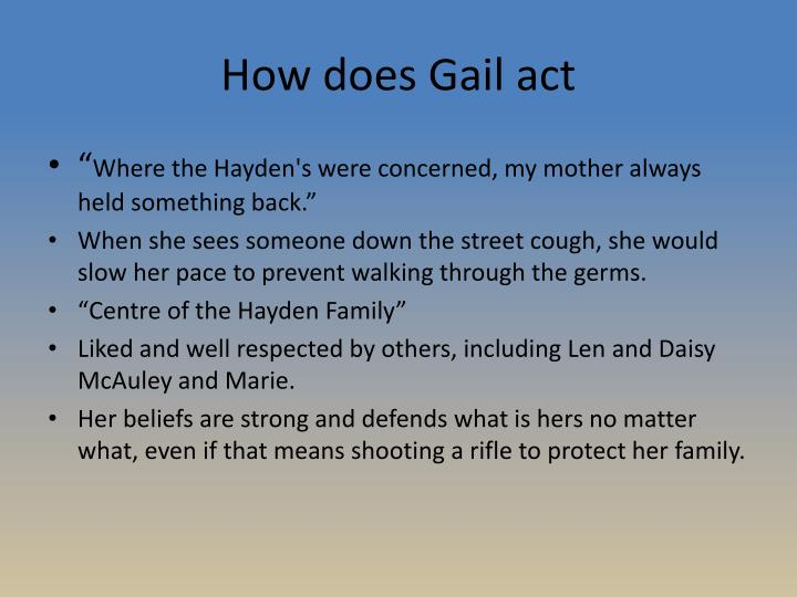 How does Gail