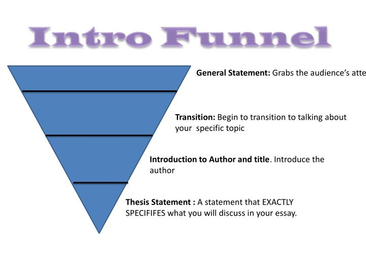 ppt - intro funnel powerpoint presentation