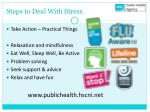 steps to deal with stress2