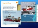 marine core