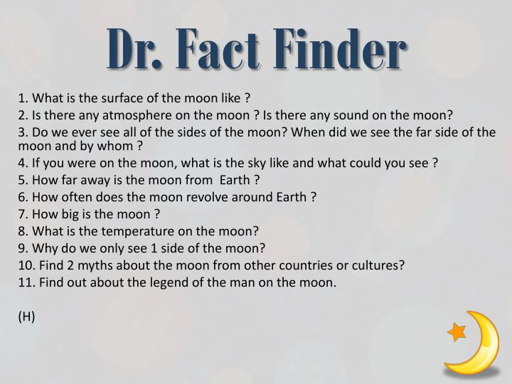Dr. Fact Finder