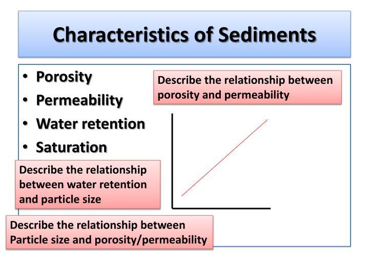 Characteristics of Sediments