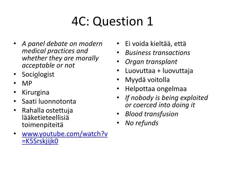 4c question 1